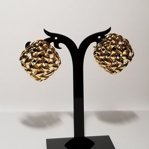 Classic Givenchy clip on earrings